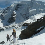 p Bernina with mountain guide sunnyclimb.com