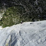 Gorges du Verdon sport climbing multi pitch