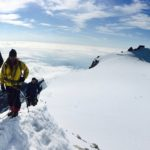 Mountaineering course Monte Rosa with sunnyclimb mountain guides