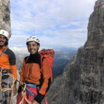 Campanil Basso brenta dolomites with sunnyclimb mountain guides