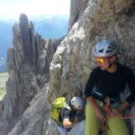 Multi Pitch Dolomites mountainguidesdolomites.com sunnyclimb.com