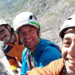 Campanil Basso brenta dolomites with sunnyclimb mountain guides