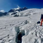 mount Rosa tecnical mountaineering course